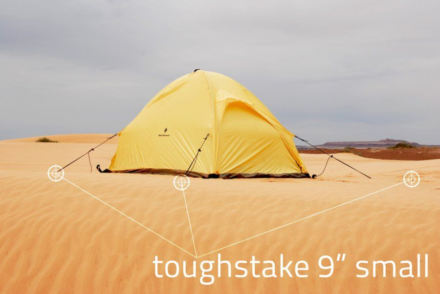 Toughstake Sand And Snow Tent Stakes